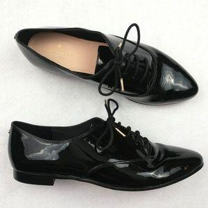 Kate Spade Carmila Patent Leather Oxfords Sz 9M